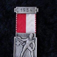 Militaria: MEDALLA DE SUIZA ORIGINAL. Lote 26257035