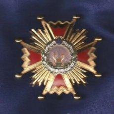 Militaria: ENCOMIENDA DE NÚMERO ORDEN ISABEL LA CATÓLICA EN METAL Y ESMALTES. Lote 147420877