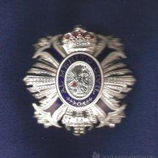 Militaria: ENCOMIENDA DE NÚMERO ORDEN MÉRITO CIVIL EN METAL Y ESMALTES. Lote 27492203