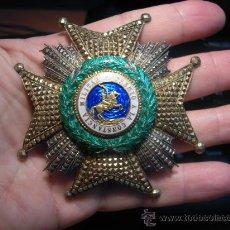 Militaria: ORDEN DE SAN HERMENEGILDO. PLACA. PERIODO DE ALFONSO XIII.. Lote 26691724