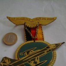 Militaria: MEDALLA ALEMANA 5 INT. WANDERTAG . MEDALLA AVION DE COMBATE. Lote 71921134