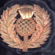 Militaria: PARCHE DE TELA DISTINTIVO NACIONAL DE ESCOCIA. Lote 27167630