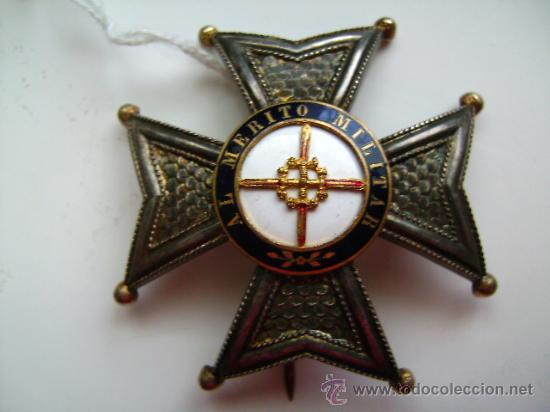 SAN FERNANDO EPOCA ISABEL II (Militar - Medallas Españolas Originales )