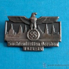 Militaria: EMBLEMA DRESDEN 1925-35-ORIGINAL-III REICH. Lote 27474843