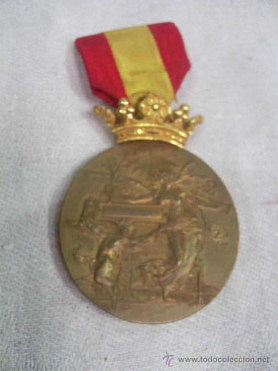 Militaria: Medalla de Oro, Exposición Universal de Barcelona. 1888. - Foto 2 - 28724973