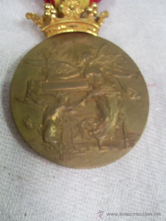 Militaria: Medalla de Oro, Exposición Universal de Barcelona. 1888. - Foto 4 - 28724973