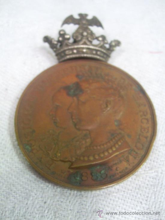 Militaria: Medalla de Oro, Exposición Universal de Barcelona. 1888. - Foto 5 - 28724973