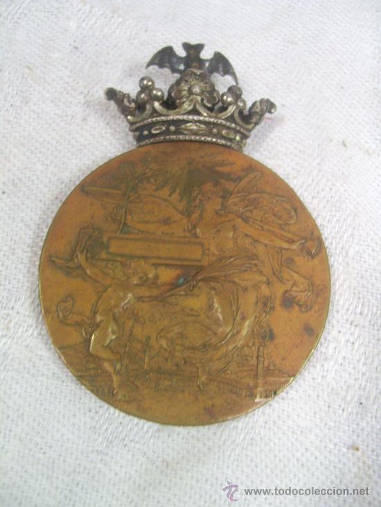 Militaria: Medalla de Oro, Exposición Universal de Barcelona. 1888. - Foto 6 - 28724973