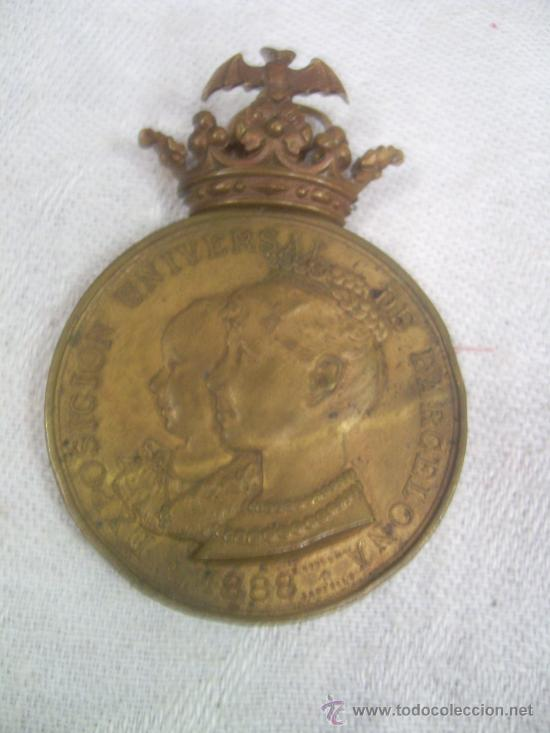 Militaria: Medalla de Oro, Exposición Universal de Barcelona. 1888. - Foto 7 - 28724973