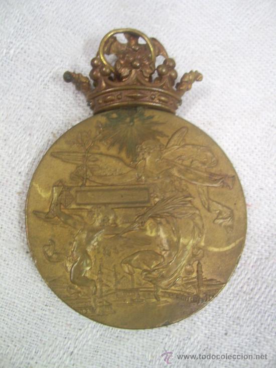 Militaria: Medalla de Oro, Exposición Universal de Barcelona. 1888. - Foto 9 - 28724973