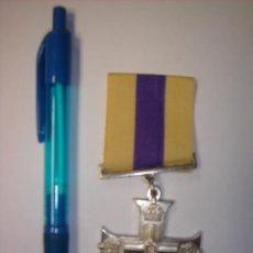 Military - MEDALLA METALICA MILITAR REPLICA ??.INSCRIPCION CORONA........ - 29462392