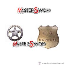 Militaria: 2 INSIGNIAS MOD. PLACA BROCHE - MARSHAL. 8 - 7 CMS ** COLECCIONISTAS. Lote 29848052