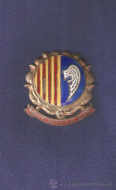 CENTRO PLACA O MEDALLA AJUNTAMENT D'OLOT (Militar - Reproducciones y Réplicas de Medallas )