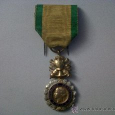 Militaria: MEDALLA FRANCESA VALOR Y DISCIPLINA-MEDALLE VALEUR ET DISCIPLINE-REPUBLIQUE FRANÇAISE 1870. Lote 29990107