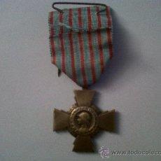 Militaria: MEDALLA FRANCESA-MEDALLE CROIX DU COMBATTANT-REPUBLIQUE FRANÇAISE. Lote 29990893
