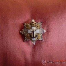 Militaria: PLACA AL MERITO NAVAL. JUAN CARLOS I. PLATA.. Lote 32416908
