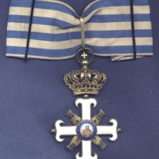 Militaria: SAN MARINO. CRUZ DE GRAN OFICIAL O COMENDADOR DE LA ORDEN DE SAN MARINO.. Lote 31737130
