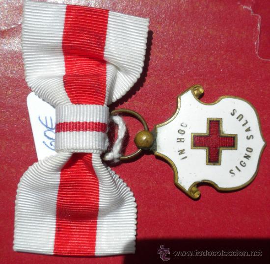 CRUZ ROJA DAMAS (Militar - Medallas Españolas Originales )