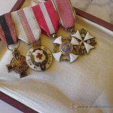 Militaria: ORDEN DEL AGUILA, PASADOR DE MINIATURAS DE ALTA CALIDAD.. Lote 31872229