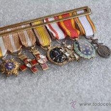 Militaria: PASADOR DE MINIATURAS DE EXCELENTE CALIDAD. Lote 32084251