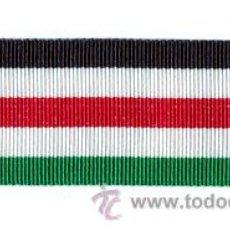 Militaria: CINTA DE MEDALLA DE ÁFRICA GERMANO ITALIANA. ALEMANIA. 1939-1945. II GUERRA MUNDIAL.. Lote 196629563