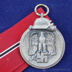 Militaria: ALEMANIA 2ª GUERRA - OSTMEDAILLE-PRIMER INVIERNO EN RUSIA 1941/42-MARCAJE 19.. Lote 32926645