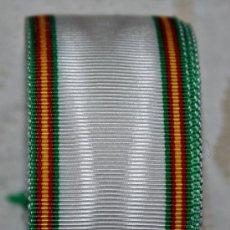 Militaria: CINTA PARA MEDALLA,PAZ DE MARRUECOS,CORTE DE 15 CM. Lote 262898520