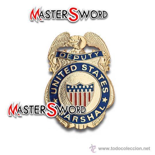 PLACA MARSHAL MOD. EE.UU - INSIGNIA BROCHE. 6,5 CMS ** REPLICA DE GRAN CALIDAD (Militar - Reproducciones y Réplicas de Medallas )