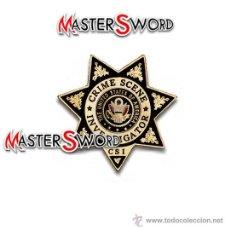 Militaria: PLACA INVESTIGADOR CSI EE.UU INSIGNIA BROCHE. 6,5 CMS ** REPLICA DE GRAN CALIDAD. Lote 33446709