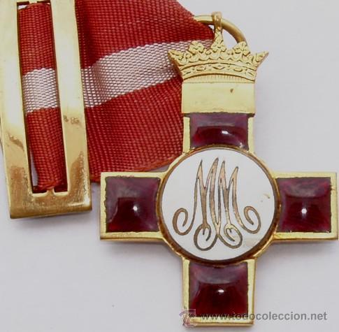 MEDALLA MERITO MILITAR DISTINTIVO ROJO. EPOCA GUERRA CIVIL (Militar - Medallas Españolas Originales )
