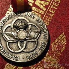 Militaria: AVIACION, CAMPEONATOS DEPORTIVOS DEL EJERCITO DEL AIRE 1996.. Lote 33653664