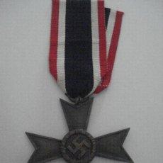 Militaria: MEDALLA CRUZ DEL MÉRITO DE GUERRA (ALEMANIA) TERCER REICH 1939 EBC-. Lote 234323020