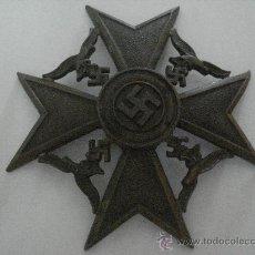 Militaria: CONDECORACIÓN CRUZ DE ESPAÑA (ALEMANIA) TERCER REICH 14-04-1939 EBC+. Lote 33835332