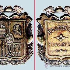 Militaria: MEDALLA DE CUELLO (PLATA DORADA), PROFESOR MERCANTIL. ÉPOCA 2ª REPÚBLICA,1931-1938 . Lote 34159682