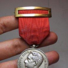 Militaria: MEDALLA DE MAYORÍA DE EDAD DE ALFONSO XIII, 17 DE MAYO DE 1902.. Lote 34349604