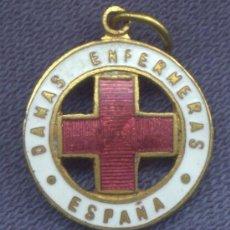 Militaria: MINIATURA DE LA MEDALLA DE DAMAS ENFERMERAS DE LA CRUZ ROJA. EPOCA ALFONSO XIII. 1926.. Lote 112219887