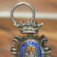 Militaria: MINIATURA EN PLATA DE LA CRUZ ROJA. Lote 34664698
