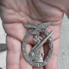 Militaria: ALEMANIA. II GUERRA MUNDIAL INSIGNIA DE AVIACIÓN. ARTILLERÍA. REPRODUCCIÓN. . Lote 34907087
