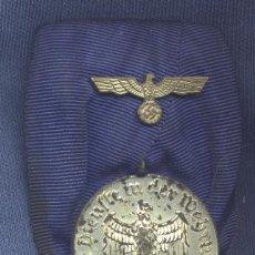Militaria: ALEMANIA III REICH. MEDALLA DE LARGO SERVICIO EN LA WEHRMACHT. 4 AÑOS.. Lote 34884799