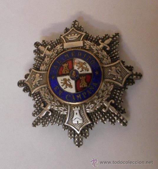 . PLACA CRUZ DE GUERRA.ESPAÑA BUENA CALIDAD. (Militar - Medallas Españolas Originales )