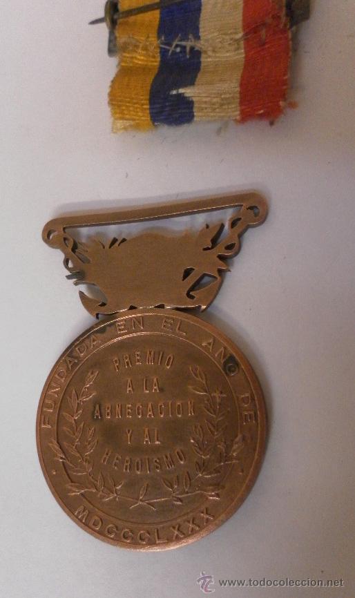 Militaria: Medalla sociedad Española de Salvamentos de Náufragos - Foto 6 - 34948735