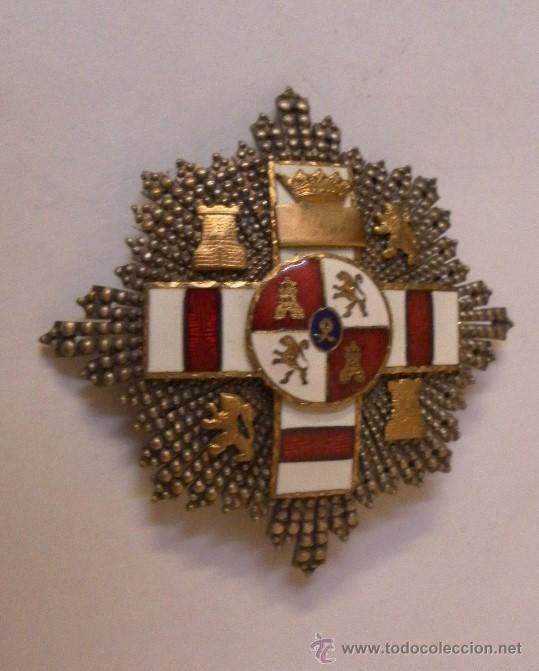 Militaria: Placa Extraordinaria. al Mérito Militar distintivo Blanco. Pensionada. Época de Franco - Foto 4 - 34949993