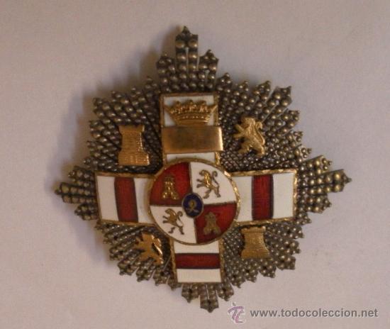 Militaria: Placa Extraordinaria. al Mérito Militar distintivo Blanco. Pensionada. Época de Franco - Foto 7 - 34949993