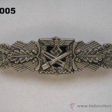 Militaria: COPIA - REPRODUCCIÓN - RÉPLICA : INSIGNIA ALEMANA ( NAHKAMPFSPANGE ). ENVÍO GRATUITO.. Lote 35176081