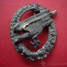 Militaria: DISTINTIVO LUFTWAFFE PARA PARACAIDISTAS. Lote 180222317