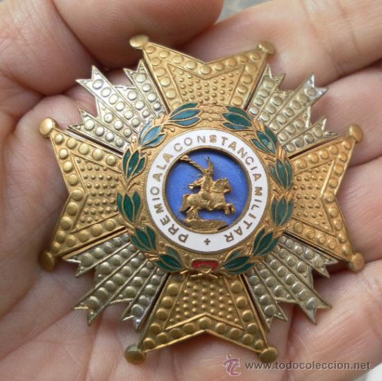 PLACA DE SAN HERMENEGILDO. ÉPOCA DE FRANCO. (Militar - Medallas Españolas Originales )
