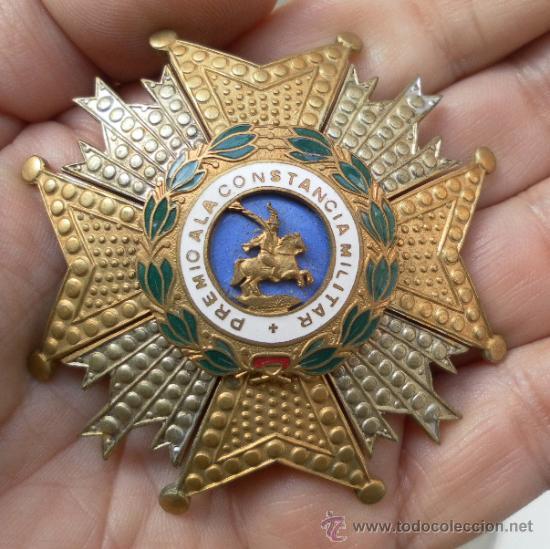 Militaria: Placa de San Hermenegildo. Época de Franco. - Foto 2 - 35345967