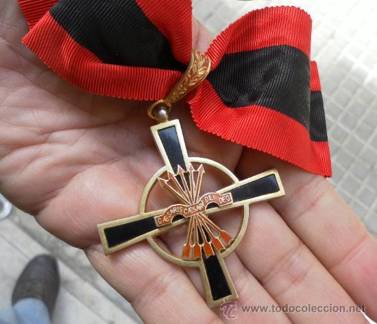 Militaria: Encomienda de la Orden del Yugo y las flechas. Época de Franco. - Foto 4 - 35346618