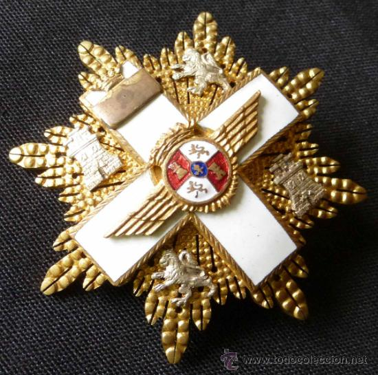 GRAN CRUZ DEL MERITO AEREO (Militar - Medallas Españolas Originales )