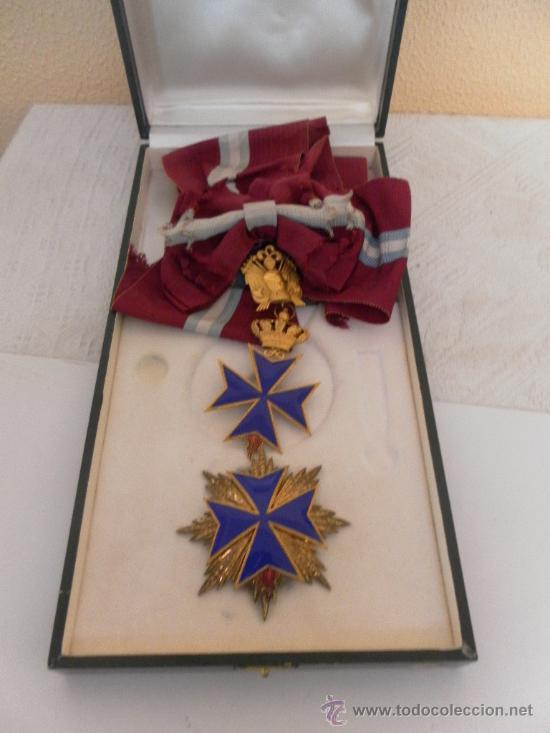 GRAN CRUZ DE ORDEN SAN SALVADOR Y SANTA BRÍGIDA DE SUECIA. (Militar - Medallas Extranjeras Originales)
